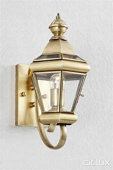 lighting australia orchard hills traditional outdoor brass wall light elegant range citilux