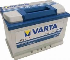 Varta Blue Dynamic Autobatterie E11 574 012 068 74ah 680a