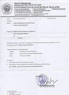 edaran wisuda 20151 biro administrasi akademik baa unikama