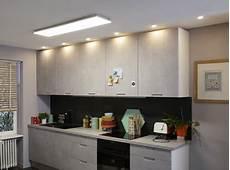 Eclairage Cuisine Plafond Tout Savoir Sur L 233 Clairage Dans La Cuisine Leroy Merlin