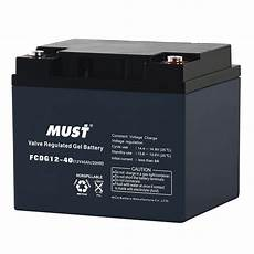 batterie a gel batteries cycle gel vrla battery fcdg series 6v 12v must energy