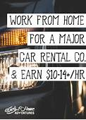 Working From Home For Enterprise Rent A Car