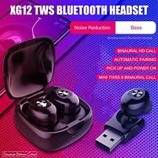 Xg12 Wireless Bluetooth Earphone Single Dual by Xg12 In Ear Wireless Bluetooth Earphone For Driving