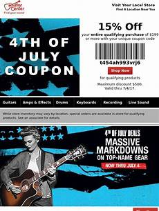 Guitar Center July 4th Coupon Plus Deals Up To 35