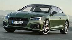 2020 audi a5 2020 audi a5 debuts subtle facelift s5 gets diesel in europe