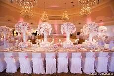 Pink Silver White Wedding Theme