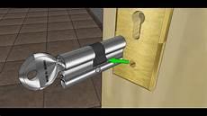 changer de serrure changer un cylindre de serrure de porte