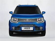 India Spec Maruti Ignis Concept Teased Rendered