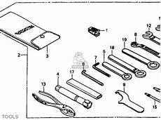 honda vt1100c shadow 1100 1987 h usa california parts list partsmanual partsfiche