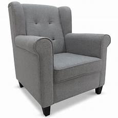 fauteuil tissu gris berg 232 re lestendances fr