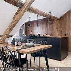 rustikale moderne küchen moderne k 252 che mit holzbalken aufwerten k 252 che insel