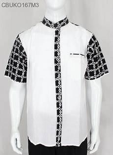 koko batik hitam putih klasik koko batik murah batikunik com