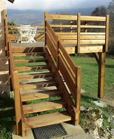 balcon bois extérieur balcon ext 233 rieur en bois autoclave