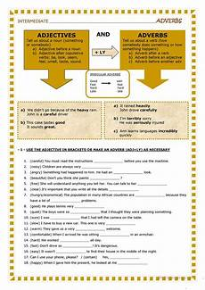 grammar worksheets on adjectives 24907 adjectives and adverbs worksheet free esl printable worksheets made by teachers