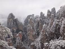 zhangjiajie winter scenery zhangjiajie gallery