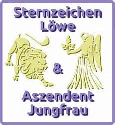 Sternzeichen L 246 We Aszendent Jungfrau