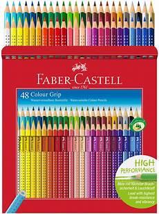 faber castell colour grip pencils assorted colours pack