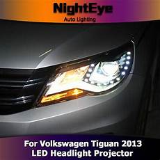nighteye vw tiguan headlights 2013 new tiguan led