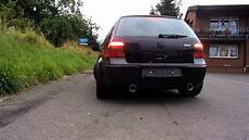 volkswagen vw golf 4 gti sound exhaust