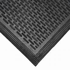 Black Rubber Door Mats Outside by Rubber Cal Dura Scraper Linear 60 In X 36 In Black