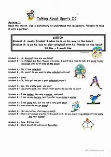 like sports worksheets 15833 sketch talking about sports part 1 worksheet free esl printable worksheets made by teachers