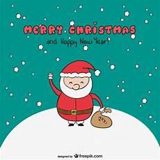 merry santa vector free