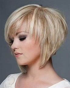 photo gallery of short layered bob hairstyles with fringe viewing 3 of 15 photos