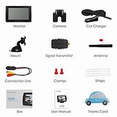 Auto Vox M1w Wireless Backup Kit Ip 68 Waterproof