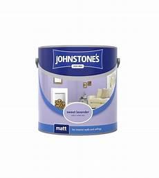 johnstones vinyl emulsion paint 2 5l sweet lavender matt tony almond