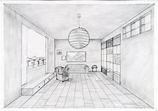 Fluchtpunkt Zeichnen Zimmer - fantasielos schule kunst