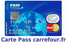 Carte Pass De Carrefour Banque