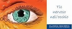 tremolio interno tic nervoso nell occhio sinistro o destro