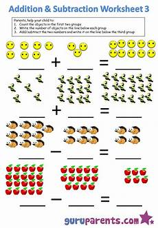 subtraction objects worksheets 10212 kindergarten math worksheets guruparents