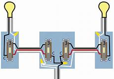 electrical need a wiring diagram for 4 way switch with source in centre and light end
