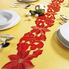 chemin de table de noel ducatillon chemin de table etoile de no 235 l cuisine