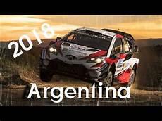 rallye argentine 2018 wrc 2018 rally argentina