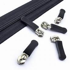 reißverschluss schieber kaufen 10 schieber 5mm silber mit kappe kaufen