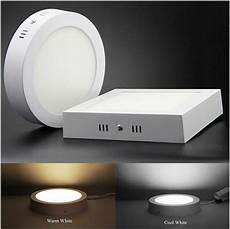 square led ceiling panel light 6w 24w flush mounted wall