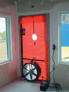 blower door testing internachi 174