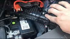 ford s max batterie how to replace 12v battery in ford c max energi 2013 2016
