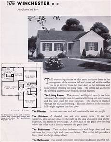 gordon van tine house plans 1935 gordon van tine homes the winchester vintage