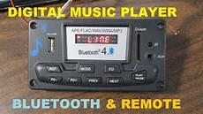 digital radio receiver test digital player with bluetooth fm radio test and