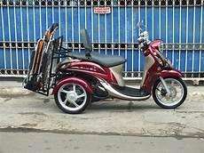 Modifikasi Motor Bebek Jadi Roda Tiga by Modifikasi Jok Motor Jok Mio Fino Dengan Sandaran
