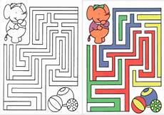 Kinder Malvorlagen Labyrinth Ausmalbilder Labyrinthe 34 Ausmalbilder Malvorlagen