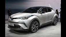 toyota c hr hybrid 2016 geneva motor show