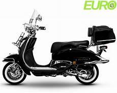 motorroller retro roller 125 ccm schwarz easycruiser