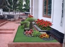 Desain Taman Minimalis Di Depan Teras Rumah Minimalis