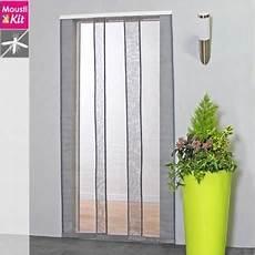 moustiquaire rideau pour porte l130 x h230 cm blanc