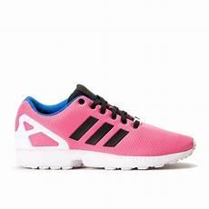 adidas zx flux semi solar pink black white