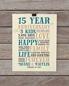 15 Year Wedding Anniversary Gift For Husband anniversary gifts 15 year anniversary present for him